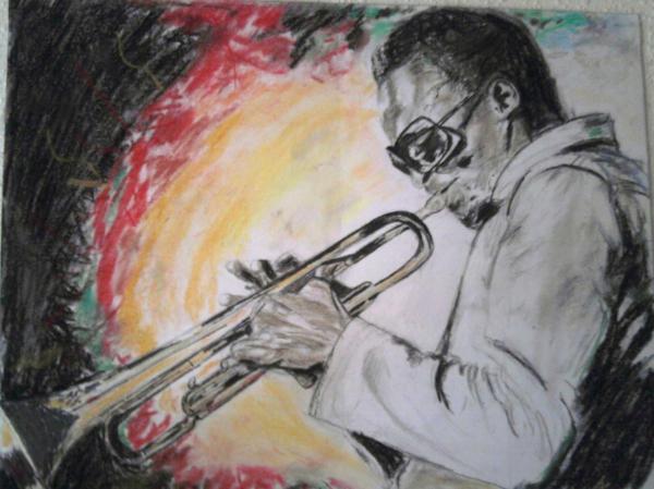 Miles Davis por Clara91